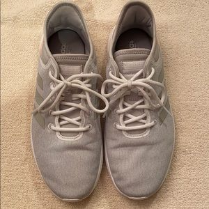 Gray and pink Cloudfoam Adidas. GREAT condition.